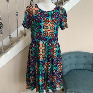 Lularoe Amelia Dress Size 2X